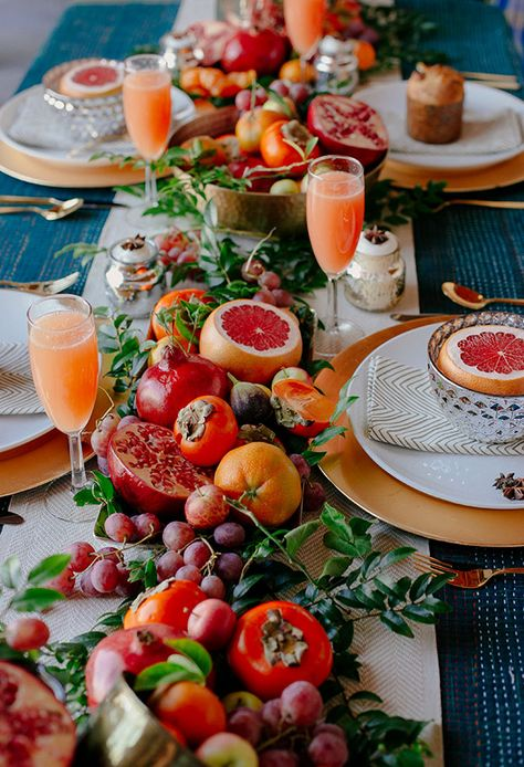 Detail Collective | Lifestyle | Holiday Entertaining - Table Design | Image:  The Jungalow