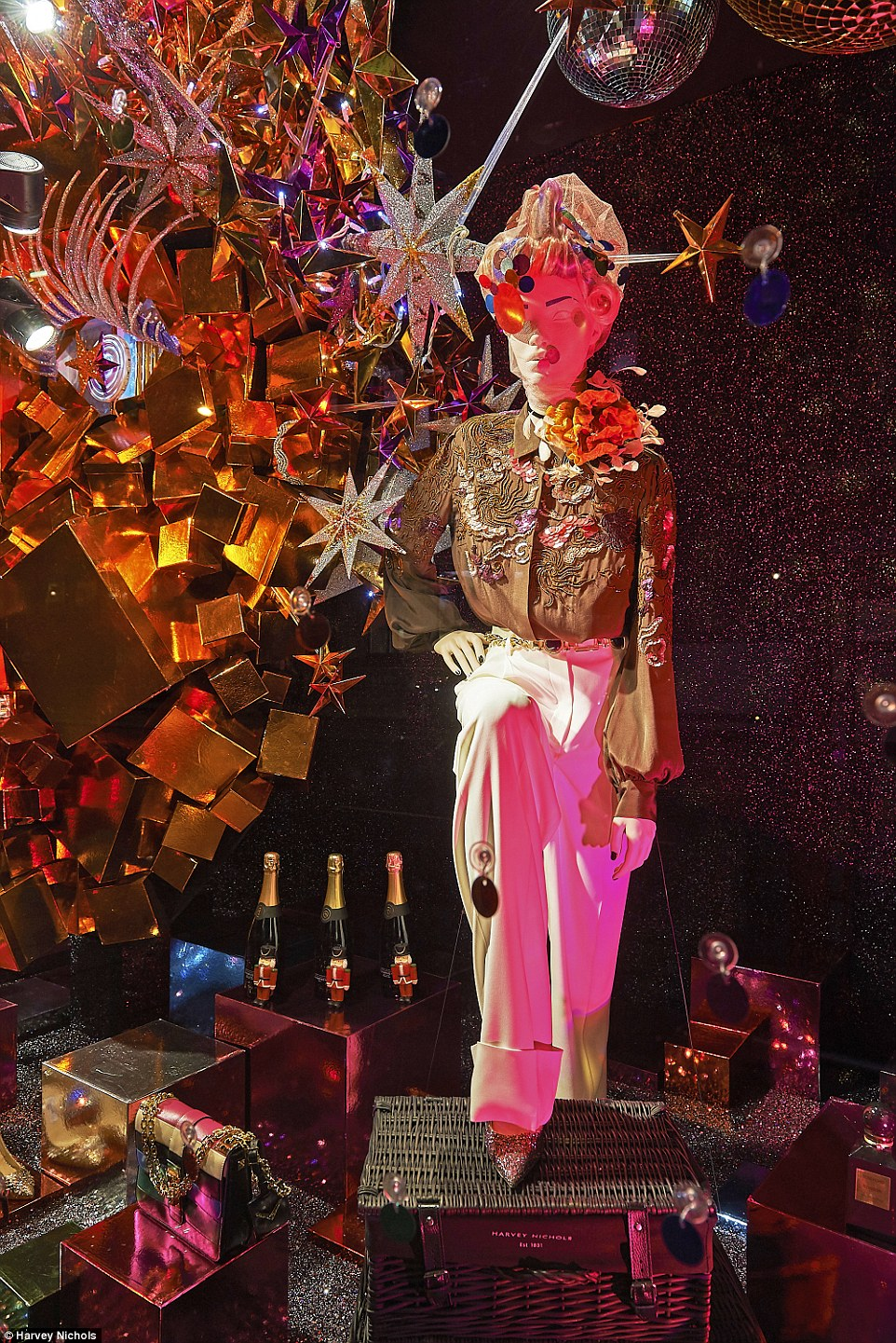 Detail Collective | Lifestyle | Best Christmas Windows 2015 | Image:  Harvey Nichols