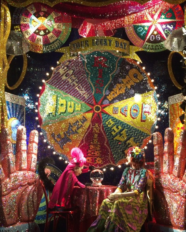 Detail Collective | Lifestyle | Best Christmas Windows 2015 | Image: Bergdorf Goodman via Habitually Chic