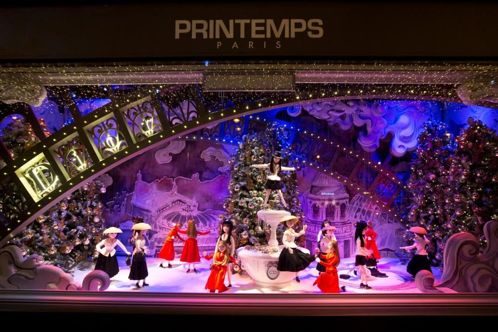 Detail Collective | Lifestyle | Best Christmas Windows 2015 | Image:  Printemps