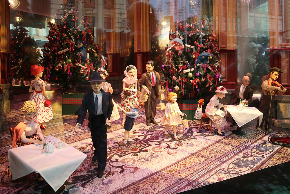 Detail Collective | Lifestyle | Best Christmas Windows 2015 | Image:  Myer Melbourne