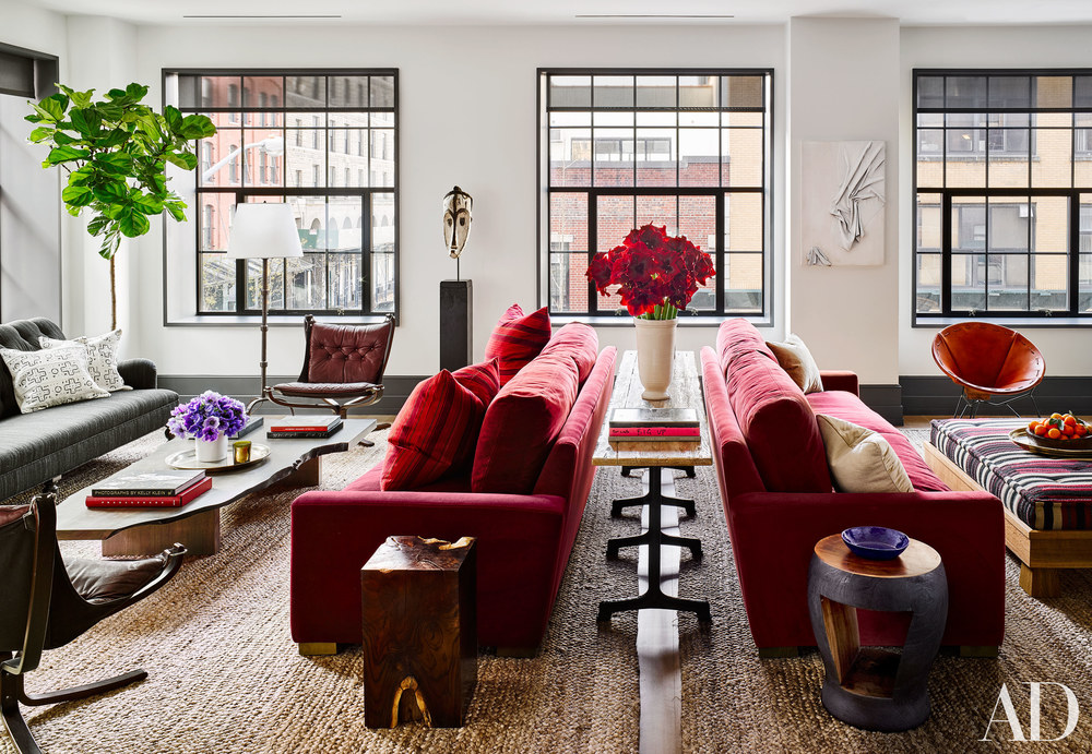 Detail Collective | Blog | Interior Spaces | Manhattan Apartment | Image:  Douglas Friedman  via  AD