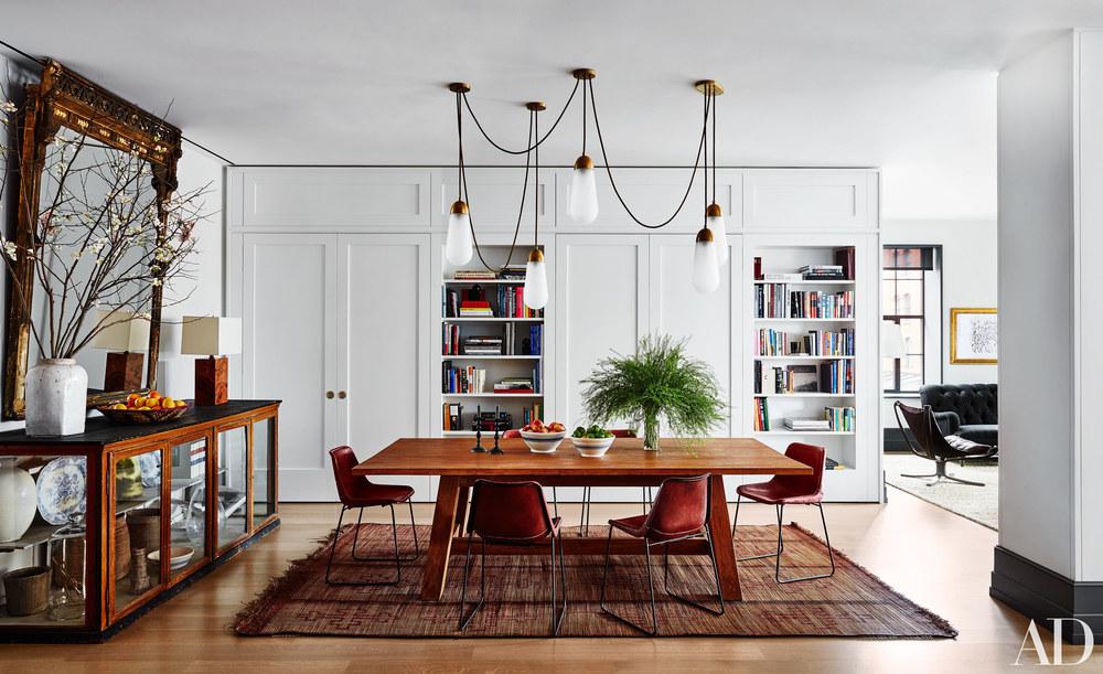 Interior Spaces Manhattan Tribeca Apartment Detail Collective Interior Design