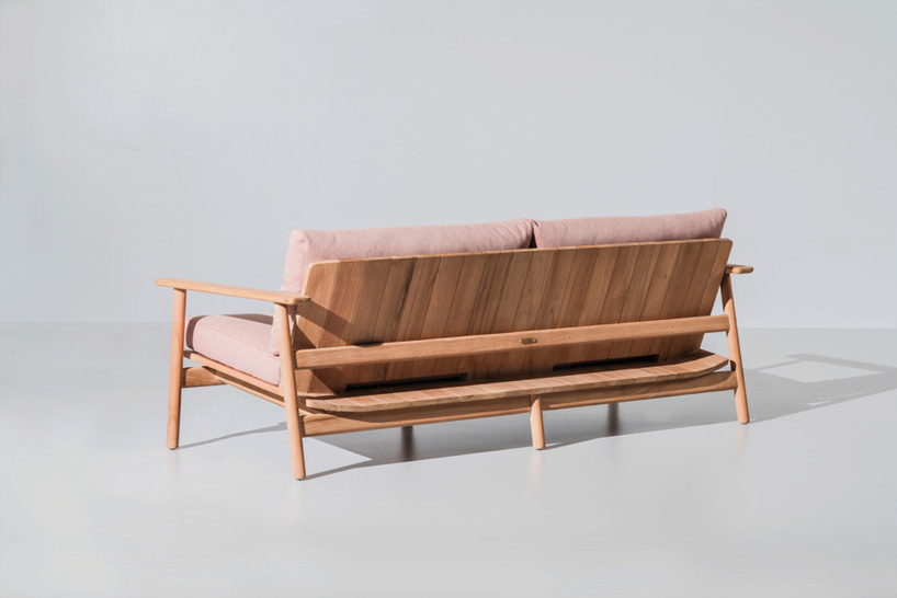 Detail Collective | Blog | Salone del Mobile 2016 | Riva Sofa for  Kettal  by  Jasper Morrison : Image:  Designboom