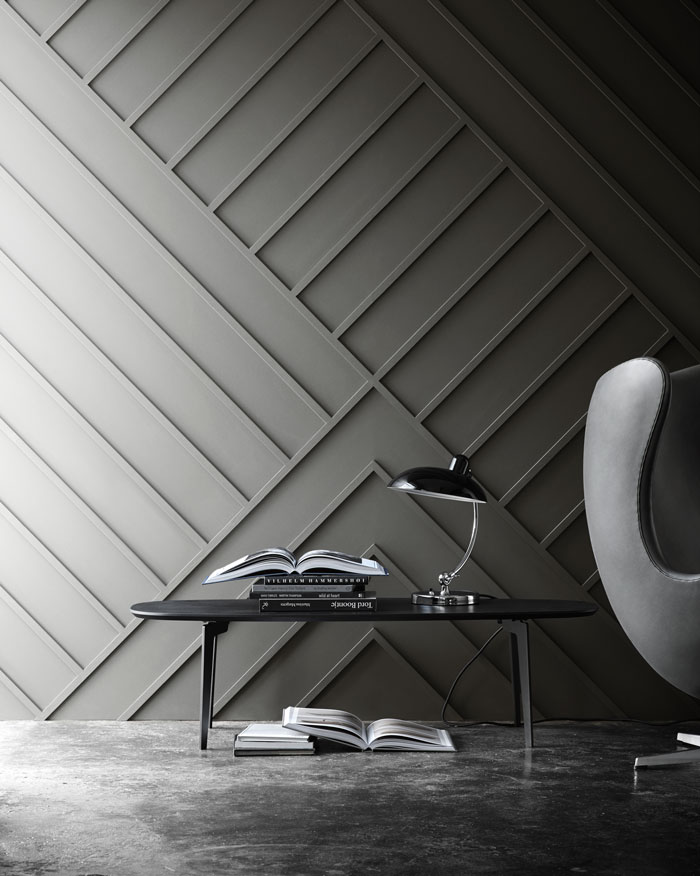 Detail Collective | Blog | Interior Spaces | Architectural Mouldings & Panelling | Image: Fritz Hansen