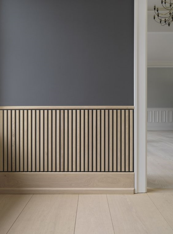 Detail Collective | Blog | Interior Spaces | Architectural Mouldings & Panelling | Image: Dinesen via April & May