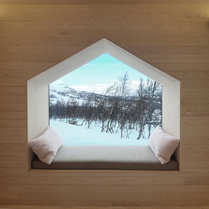 Detail Collective | Blog | Interior Spaces | Window Seats | Image: via Yatzerdesign Reiulf Ramstad.