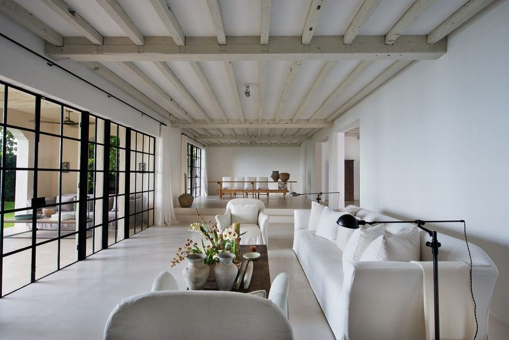 Detail Collective | Blog | Interior Spaces | Calvin Klein's Miami Home by  Axel Vervoordt  | Image:  Curbed