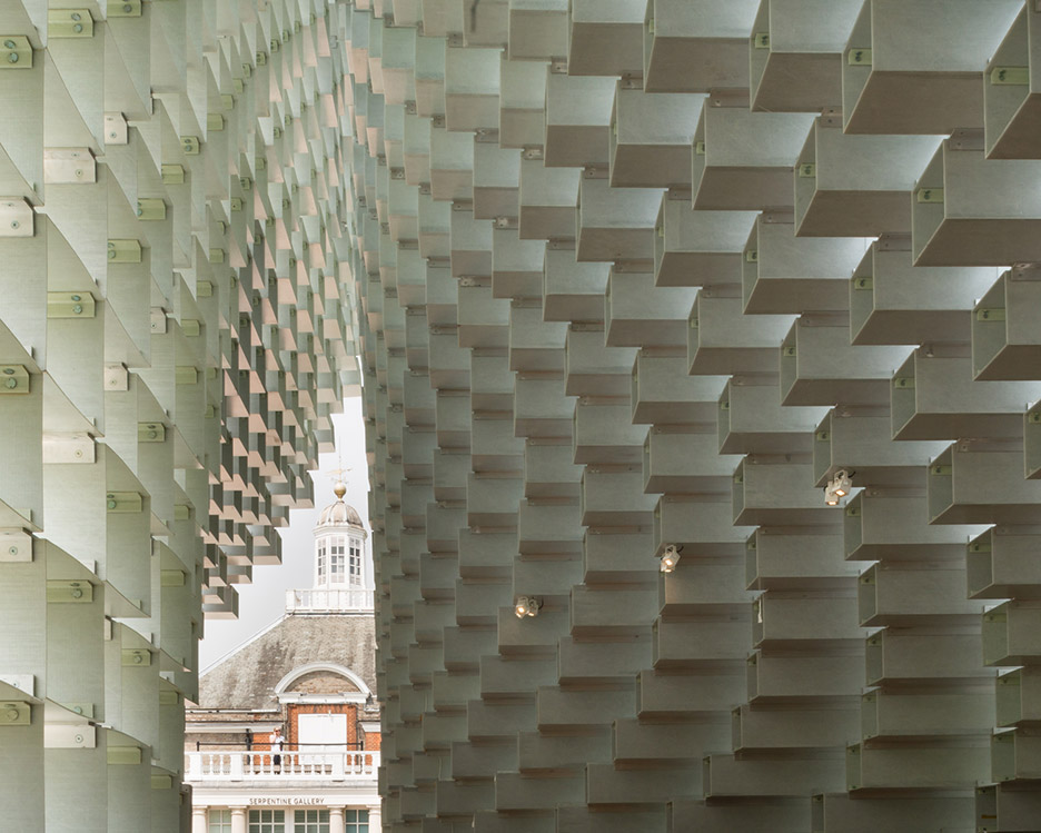 Detail Collective | Blog | Outside Spaces | Serpentine Gallery Pavilion 2016 | Design: BIG | Image: via Dezeen