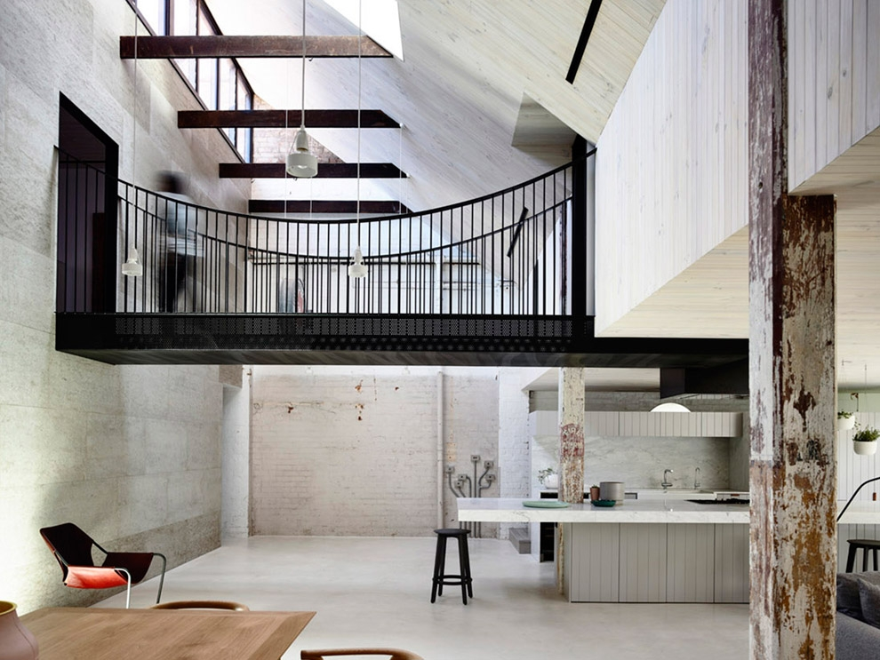interior spaces fitzroy loft by architects eat detail collective