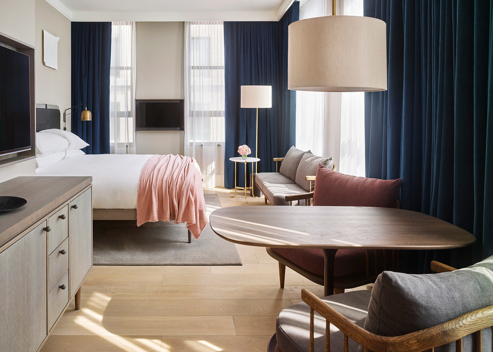 Detail Collective | Lifestyle | 11 Howard Hotel N.Y | Image: via Dezeen