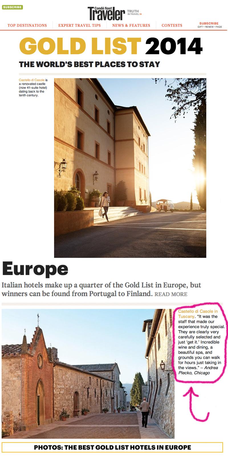 images via:  Condé Nast Traveler