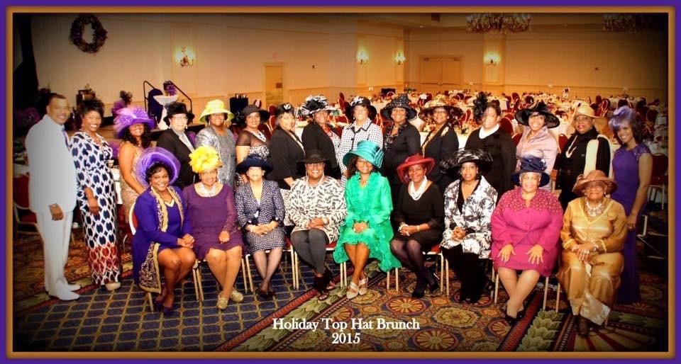 National Coalition of 100 Black Women ~ Central Mississippi Chapter ~ Holiday Top Hat Brunch 2015       Marriott Jackson