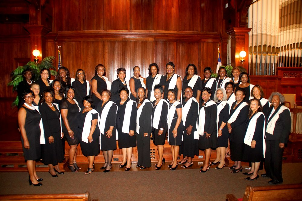 National Coalition of 100 Black Women, Inc.Central Mississippi Chapter ~ 2014 Member Induction Ceremony ~     Tougaloo College Woodsworth Chapel