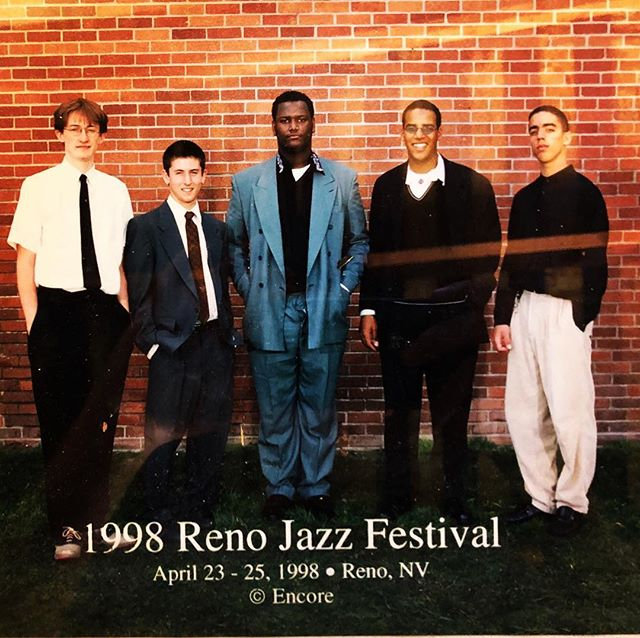 #tbt back when I was a jazz musician 20 years ago- @milesmosley and @kamasiwashington were already superheros- it only took the world a couple decades to catch up to them.  hey @evandpeters, when they gonna let us sit in with them? ❤️✌🏻