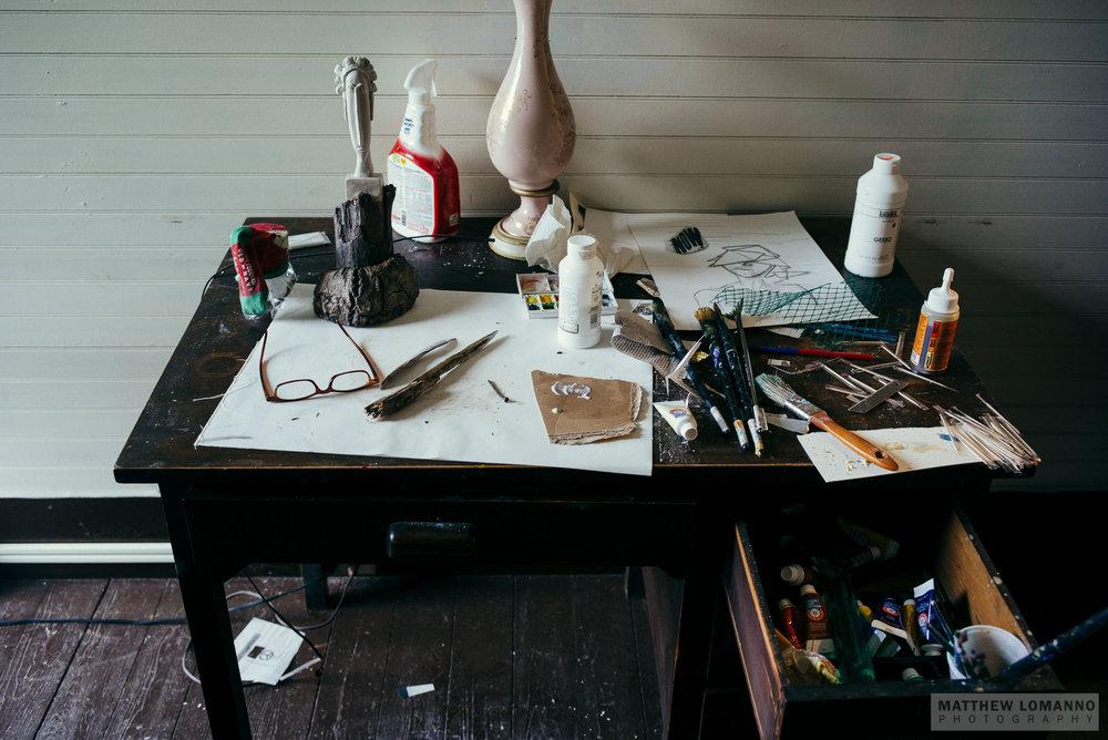 Nestor's desk