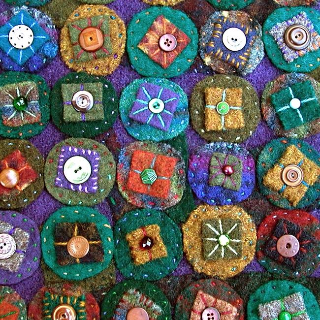 green and purple penny rug.jpg