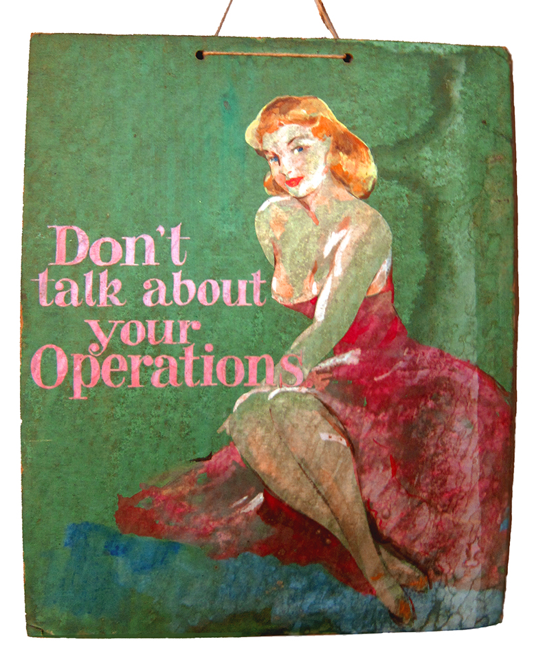don't talk about your operations