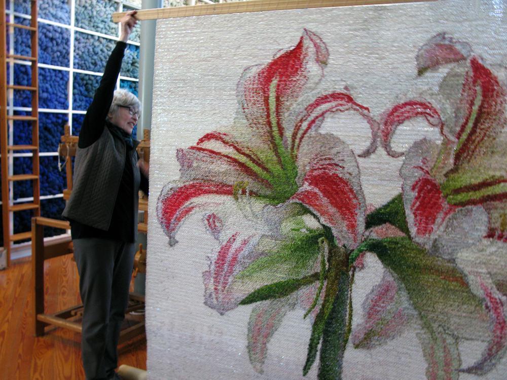 hernmarck - tapestry wip