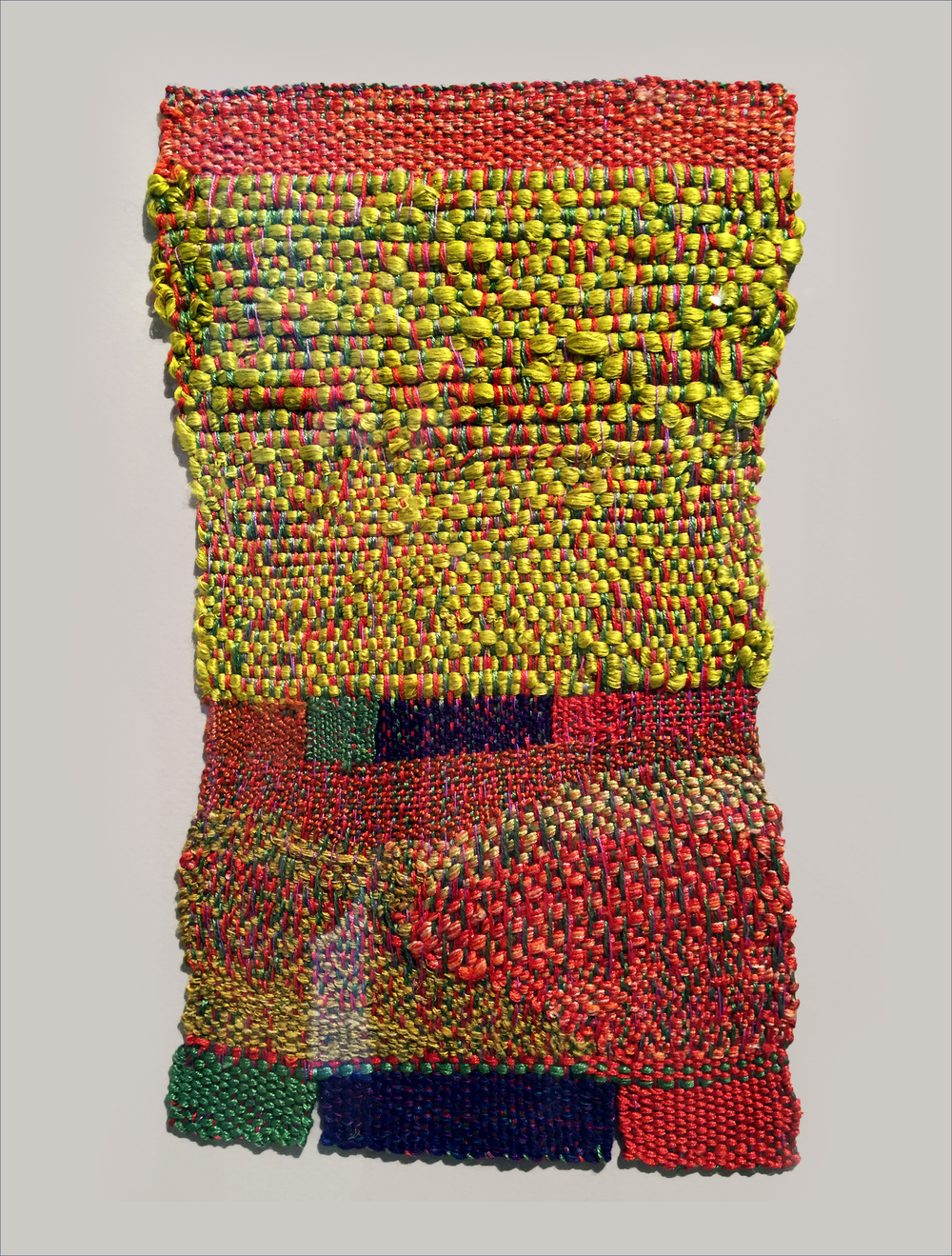 SHEILA HICKS  :: COLZA REEVE :: COTTON, SILK, LINEN