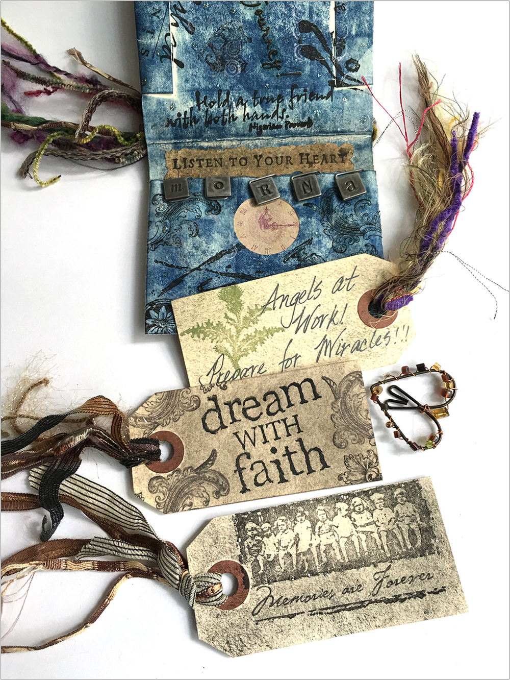 MAGICAL BOOK  FROM KIM CAPAN, WHO BLOGS AT ILOVESAMPLERS