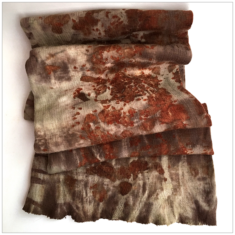 EXTRAORDINARY ECO-DYE FROM INDIA FLINT