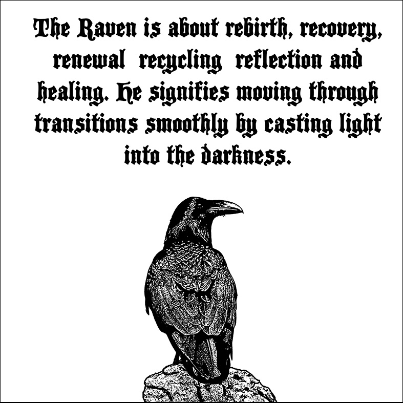 raven=meanng