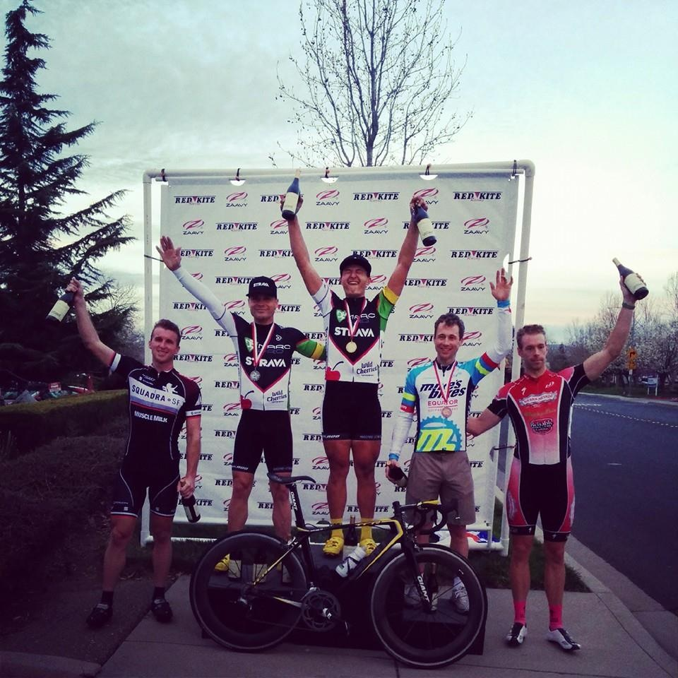 Dana on the podium in Livermore