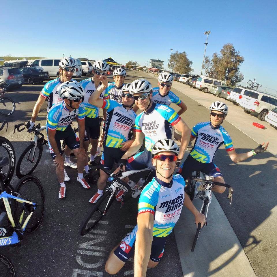 Chris Riekert's Hero3 GoPro picture of the boys after their stage one win