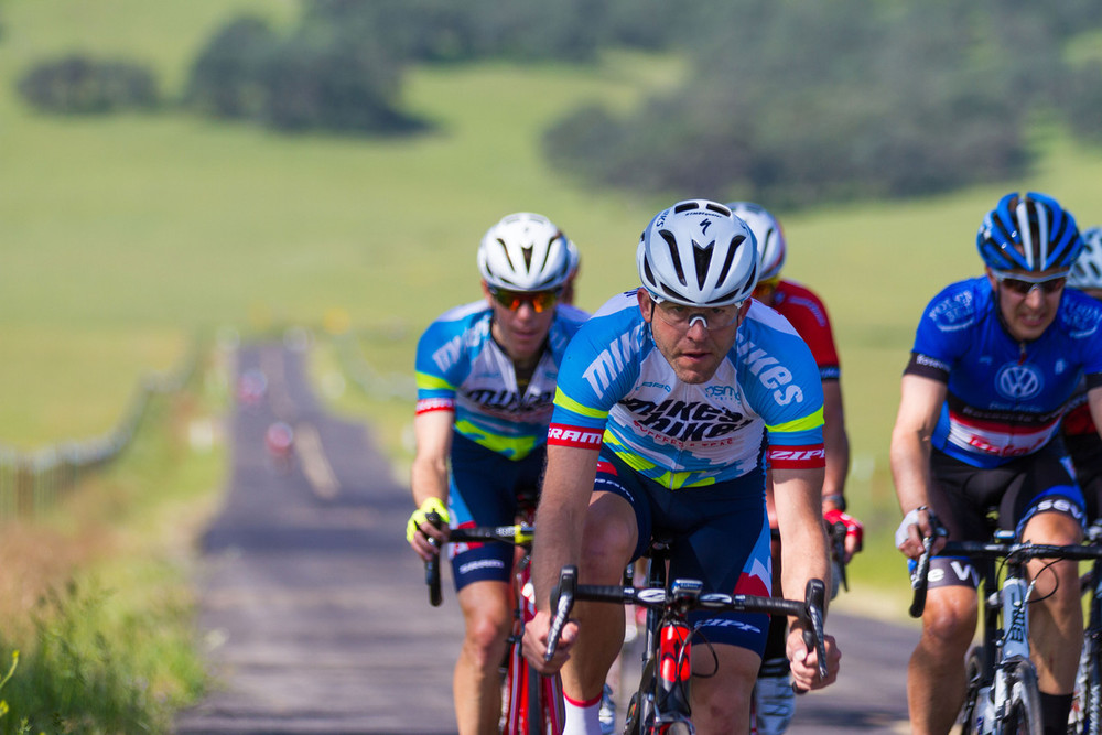 2nd lap with Benford,  Bromstead, and myself still in the group Photo Courtesy of Alex Chiu