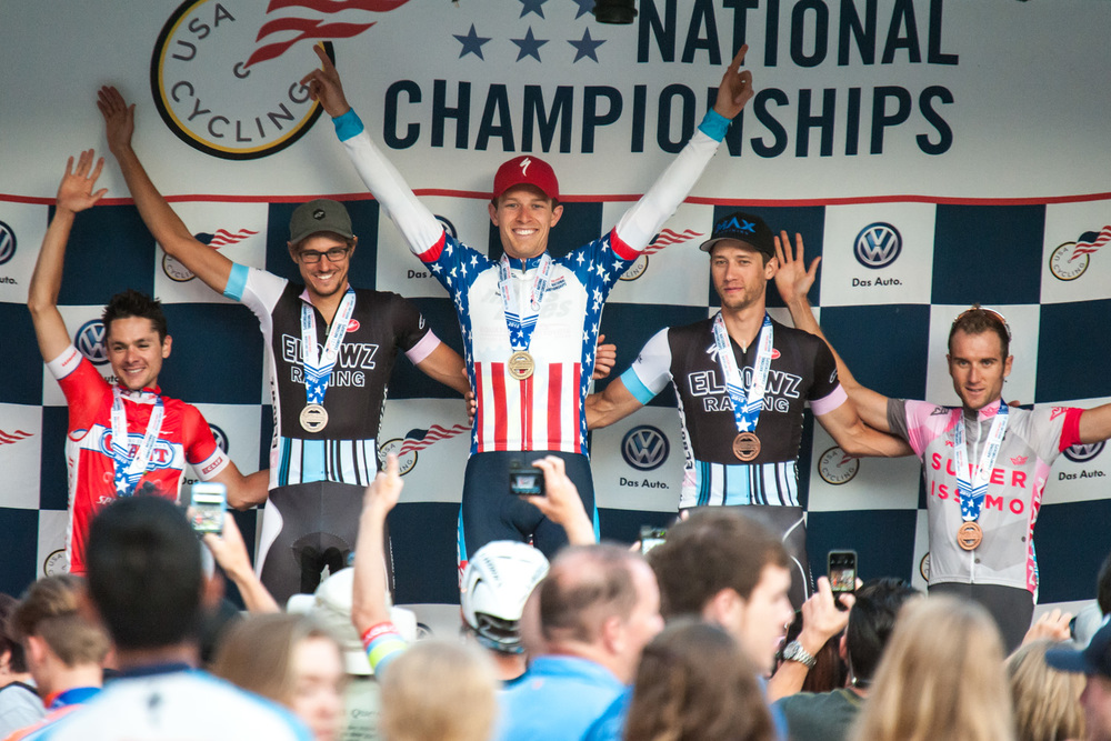 2015 USAC Nationals: Road Race � Team Mike's Bikes p/b Equator Coffees