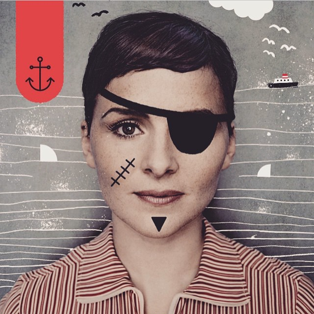 Re-popping @lleguen's musical pirate @emilianatorrini #xtrapop #followerspopping #music
