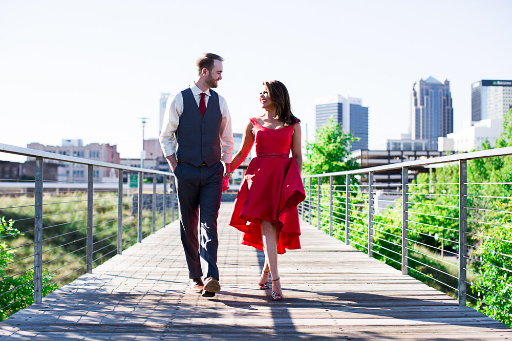 The Look of Love at Railroad Park, Birmingham, AL - Jamie & Alex