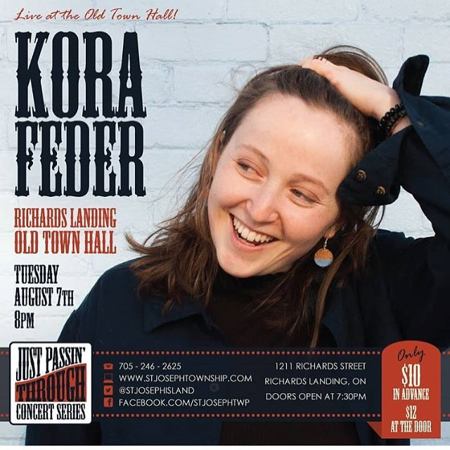 Greetings friends. There's this groovy singer-songwriter concert in an old beautiful church tomorrow night in the country. I thought you should know about it before it happens & it's too late. @gonorthmusicfestival @korafeder