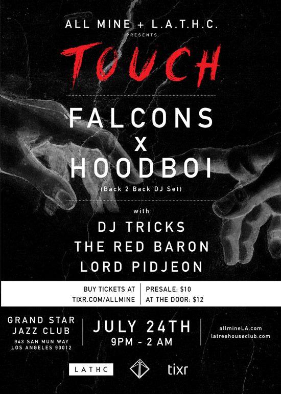 Touch LA flyer