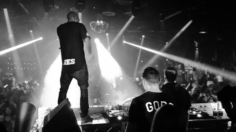 Yellow Claw in Stampd LA shirts | Create Nightclub, Los Angeles