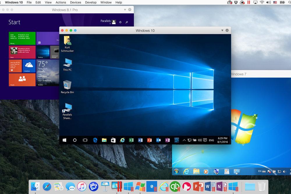 mac OS & Windows services