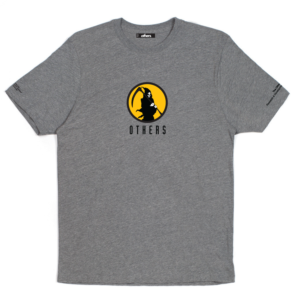 BILL COLLECTOR T-SHIRT [HEATHER GREY]