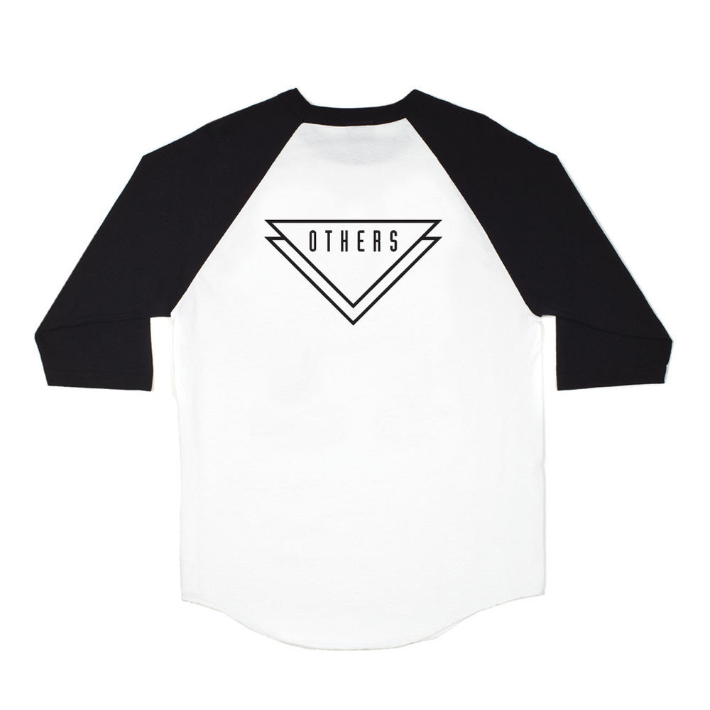 ALLIANCE RAGLAN [BLK/WHT]