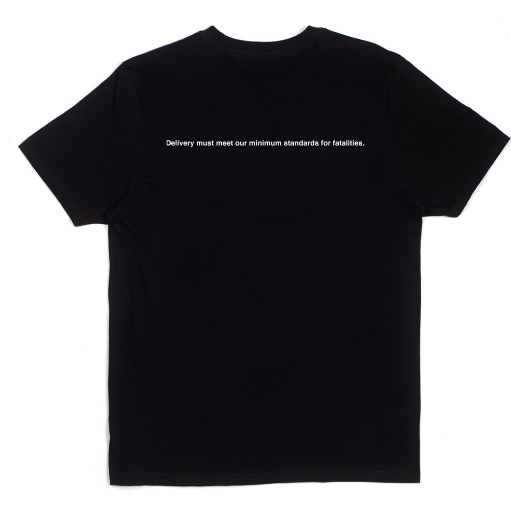 POLICY T SHIRT [BLACK]