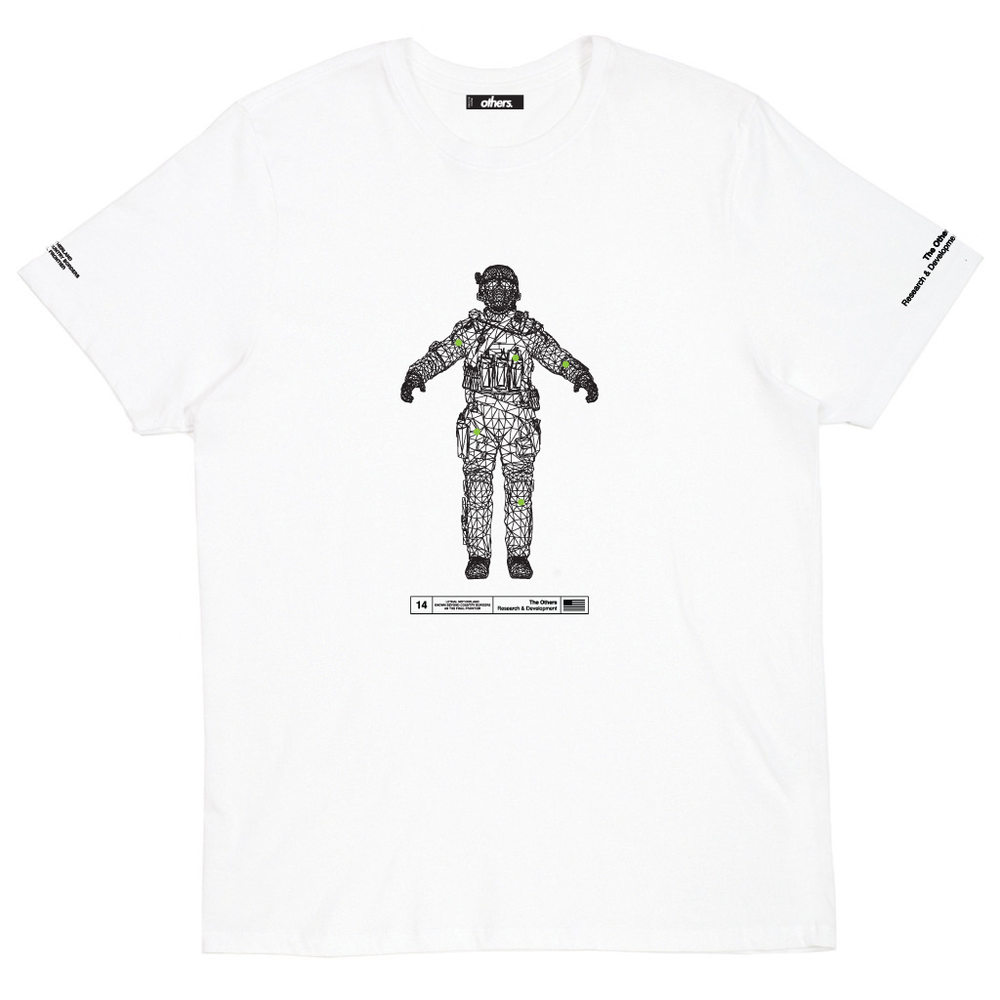 PRESSURE POINTS T SHIRT [WHITE]