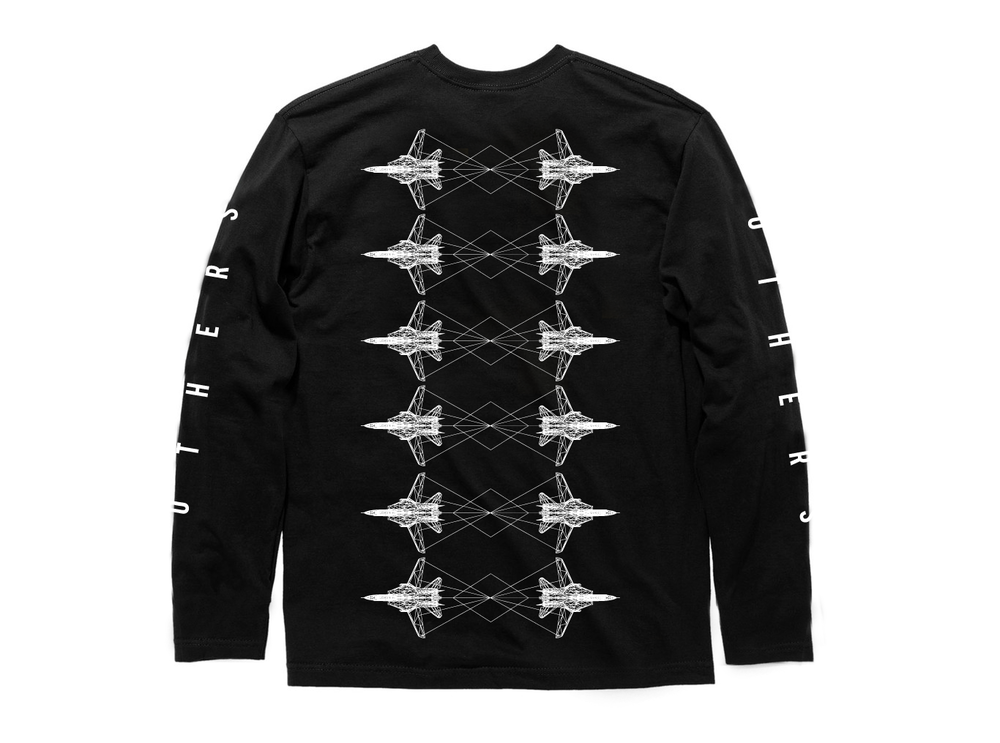 INTERTWINED L/S SHIRT [BLACK]