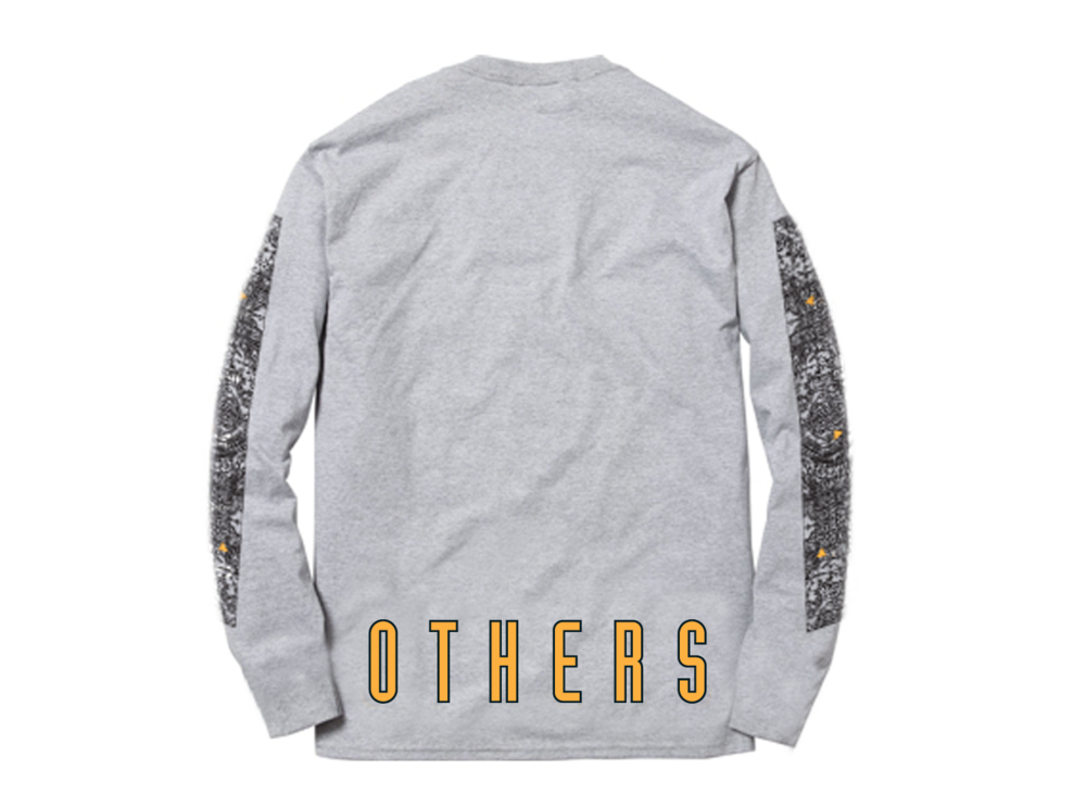 KOSOVO L/S SHIRT [HEATHER GREY]
