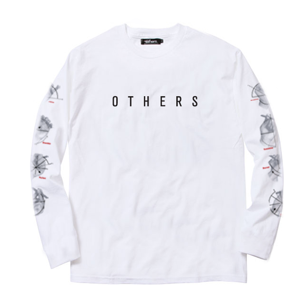 STATE OF MIND L/S SHIRT [WHITE]