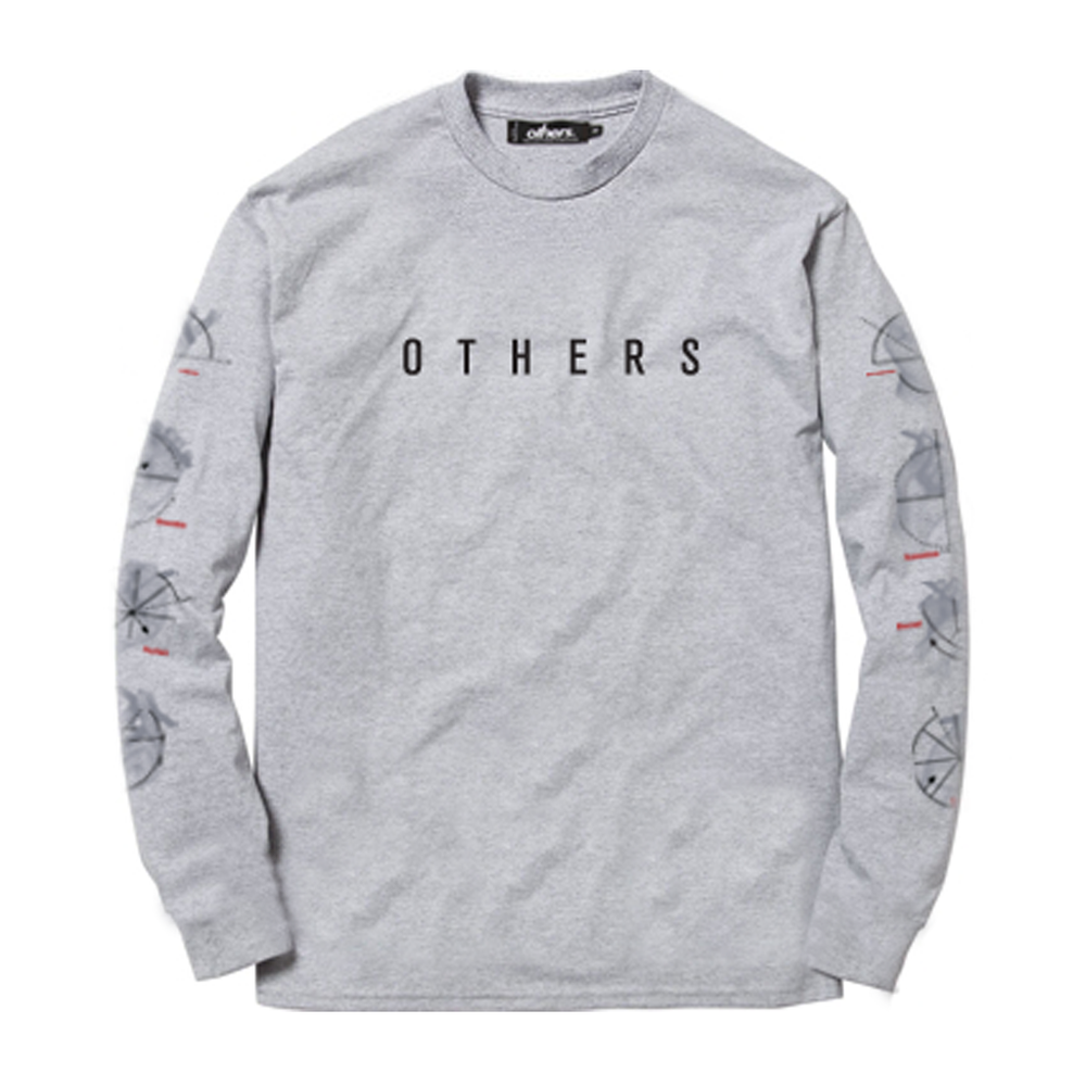 STATE OF MIND L/S SHIRT [HEATHER GREY]