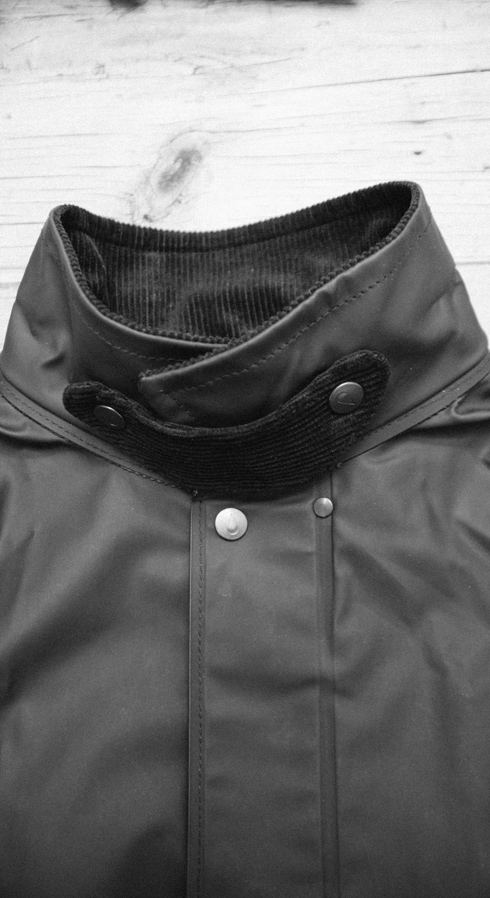 Collar and Strap of Jacket and Coat