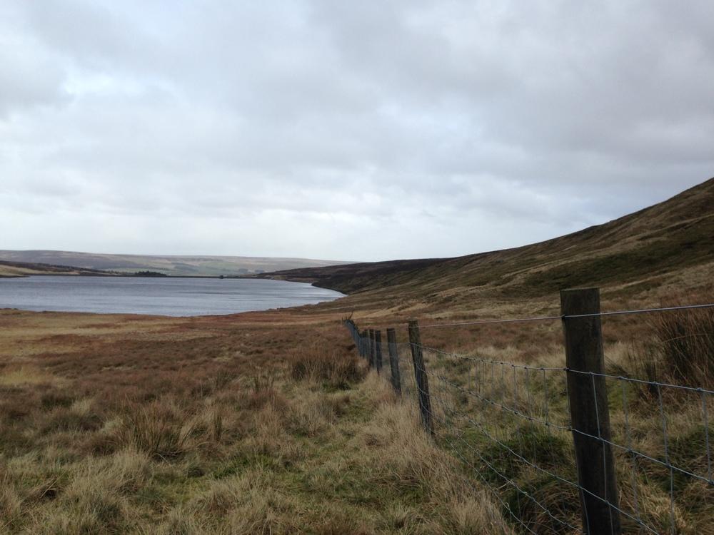 Upper Gorple Reservoir