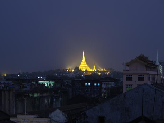 Shwedagon Yangon Burma