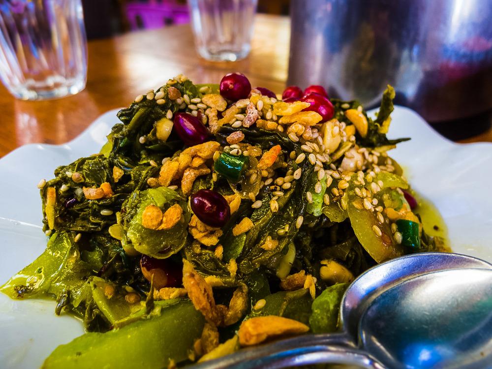 Chiang Rai Burmese Tea Salad
