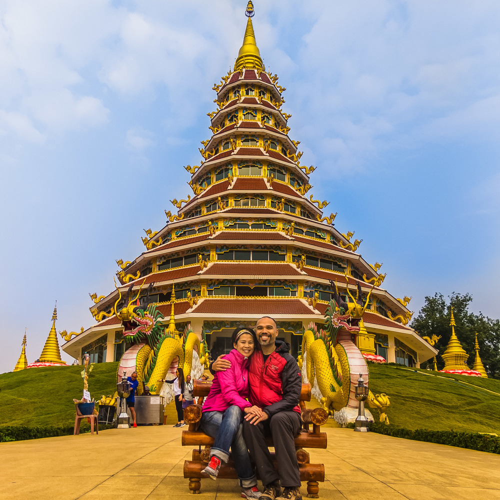 Chiang Rai Wat Huay Pla Kung